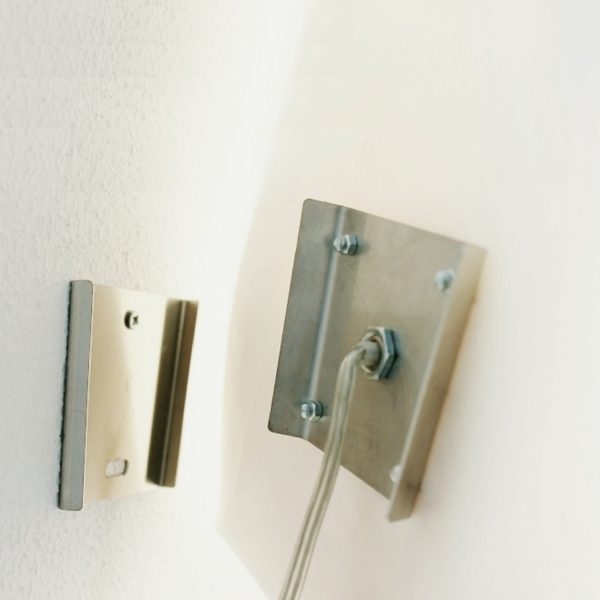 Wall lamp B4 metal bracket