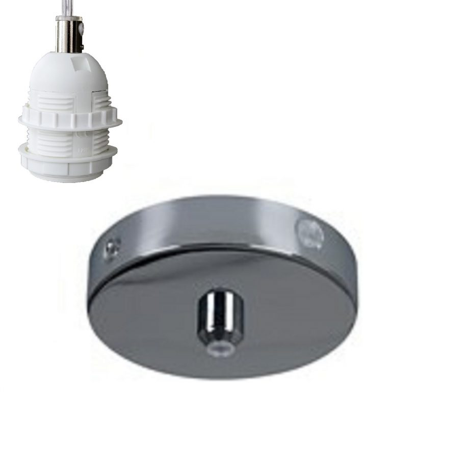 Pendant B3 – canopy and socket
